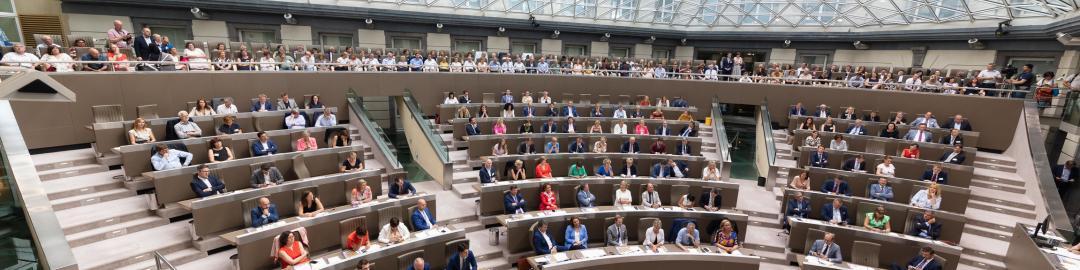 Koepelzaal Vlaams Parlement